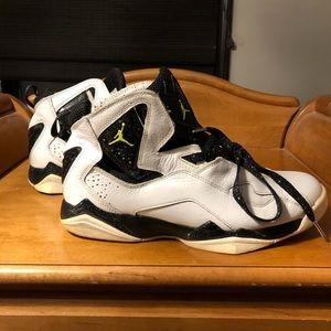 Air Jordan Shoes - Jordan True Flights with white leather